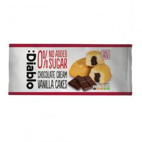 :Diablo no Added Sugar Chocolate Cream Vanilla Cakes 150g