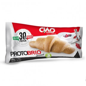 CiaoCarb Plain Sweet Protobrio Stage 1 Croissant 1 unit 50g