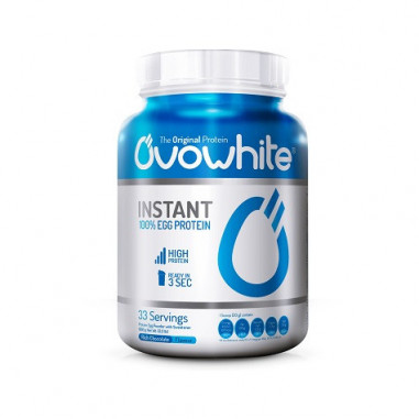 OvoWhite Instant 100% Egg Protein Strawberry and Banana 453 g