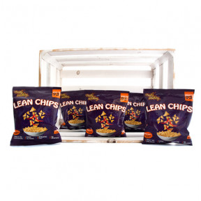 Pack de 36 Lean Chips (Nachos de Proteina) Thai Sweet Chilli Purely Snacking