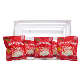 Pack of 36 Lean Popcorn (Pipoca de Proteina) Churrasco Purely Snacking