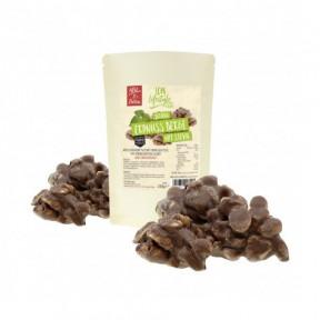 Rochas chocolate de leite com amendoim com Stevia 250 g LCW