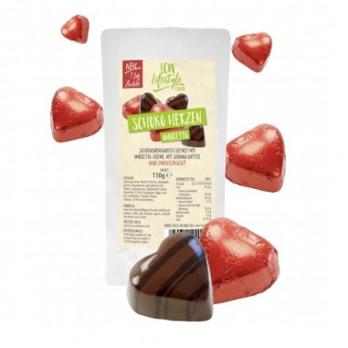 Bombones de chocolate con Amareto 110 g LCW