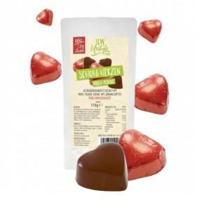 Bombons low-carb de chocolate ao leite e praline 110 g LCW