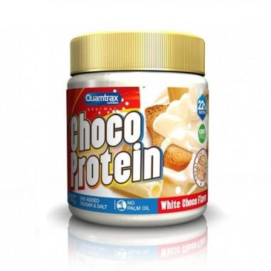 Creme de Chocolate Branco Choco Vegan Protein Quamtrax 250 g