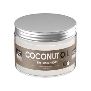 Óleo de Coco Virgem Certificado Cocofina Pet 450 ml