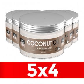 Aceite de Coco Virgen Orgánico Cocofina Envase Pet 450 ml