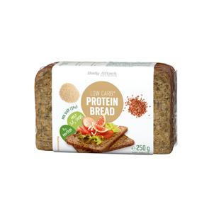 Fatias de pão fresco com sementes baixo em carboidratos 250g Body Attack