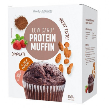Body Attack LowCarb Chocolate Protein Muffin Mix 150g