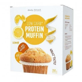 Body Attack LowCarb Protein Muffin Mix limão 150g