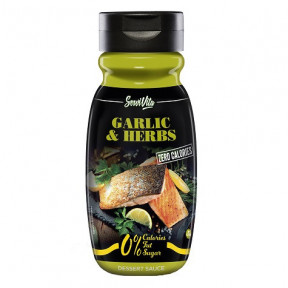 Servivita 0% Garlic & Herbs Sauce 320 ml
