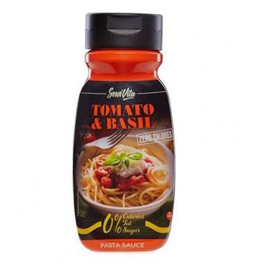 Salsa Tomate y Albahaca 0% Servivita 320 ml