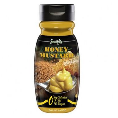 Servivita 0% Mustard and Honey Sauce 320 ml