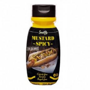 Salsa Mostaza Picante 0% Servivita 300 ml