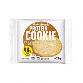 Biscuit Protéiné Amande et Chocolat Blanc Attack 75g