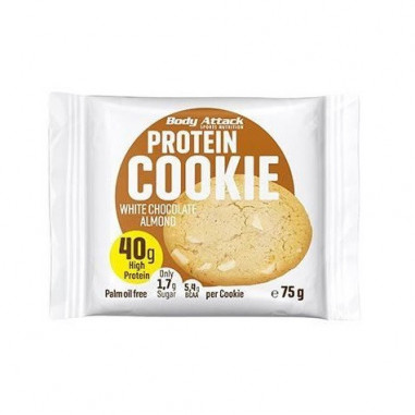 Body Attack Protein Cookie White Chocolate Almond 75 g