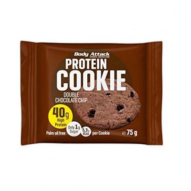 Biscuit Protéiné goût Biscuits au double chocolat Body Attack 75g