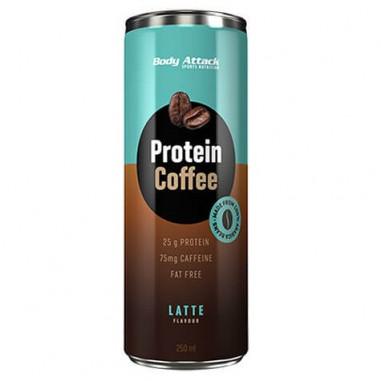 Bebida Proteica de Café Protein Coffee sabor Latte Body Attack 250 ml