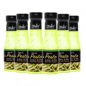 Pack de 6 Sauces Pesto 0% 2bSlim 250 ml