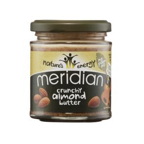 Mantequilla de Almendra Crujiente Meridian 170 g