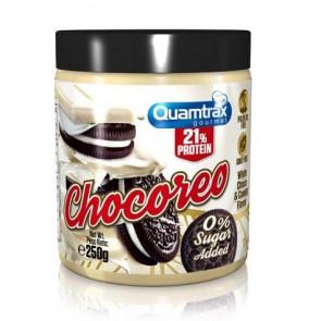 Crema de Chocolate Blanco y Avellanas con Oreo Chocoreo Quamtrax 250 g