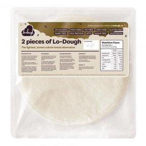 Flatbread faible en glucides Lo-Dough 2x28g