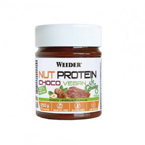 Crema de Chocolate Weider NutProtein Crunchy Choco Vegan Spread