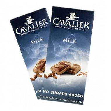 Tableta de chocolate con leche Cavalier 85 g