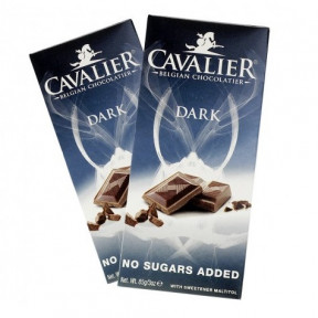 Tableta de Chocolate Negro Cavalier 85 g
