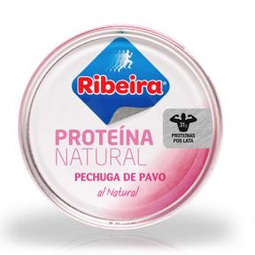 Pechuga de Pavo al Natural Ribeira 160 g