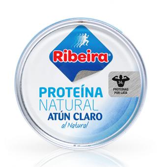 Atún Claro al Natural Ribeira 160 g