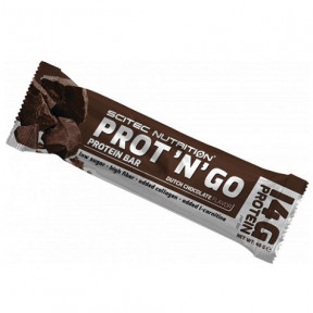 Scitec Nutrition Prot 'N' Go Chocolate Protein Bar 45 g