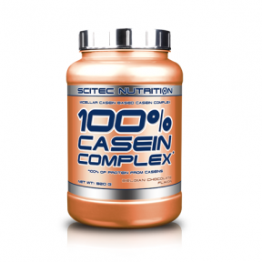 100% Casein Complex Chocolat Belge Scitec Nutrition 2350 g