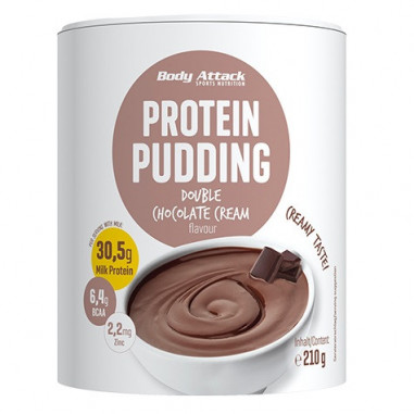 Body Attack Chocolate Protein Pudding 210g