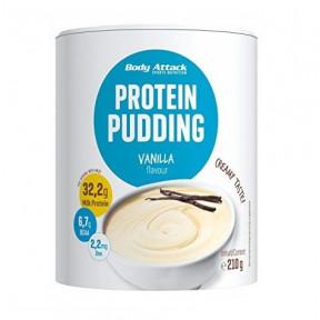 Body Attack Bourbon Vanilla Protein Pudding 210g