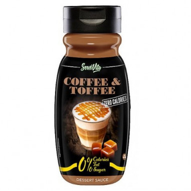 Servivita 0% Coffee and Toffee Syrup 320 ml