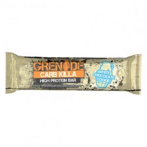 Barre Protéinée Carb Killa goût Biscuit au Chocolat Blanc Grenade 60 g
