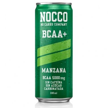 Bebida Low-Carb BCAA+ sabor Manzana Nocco 330 ml