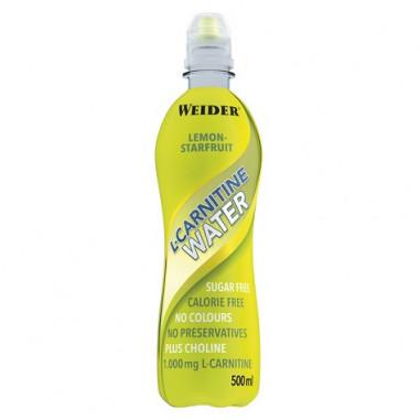 L-Carnitine Water 1000 mg Sunny Lemon Flavour Weider 500 ml