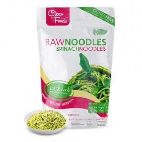 Raw Pasta Konjac Noodles com Espinafre Clean Foods 200 g