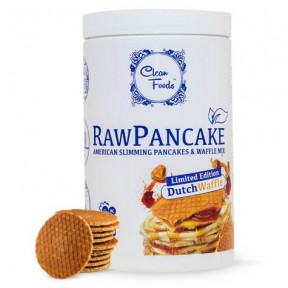Preparado para Tortitas Low-Carb Raw Pancake sabor Gofre Clean Foods 425 g