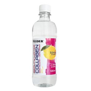 Bebida con Colágeno Beauty Water Collagen Limón y Yuzu Weider 500 ml