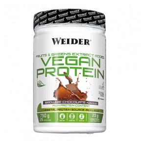 Vegan Protein Chocolate Brownie Flavour Weider 750 g