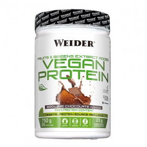 Vegan Protein Sabor Brownie de Chocolate Weider 750 g