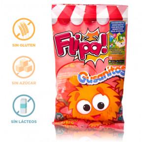 Flipa Sugarless Gummies Worms 80 g