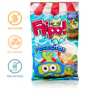 Flipa Sugarless Gummies Fishes 80 g