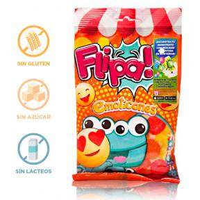 Flipa Sugarless Gummies Emoticons 80 g