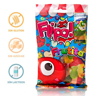 Flipa Sugarless Gummies Fruits 80 g