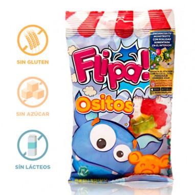 Bonbons sans Sucre Oursons Flipa 80 g