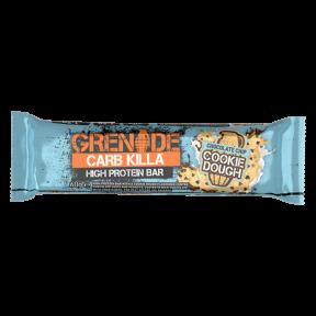 Barra de Proteína Carb Killa sabor Massa de biscoito com Pepitas de Chocolate Grenade 60 g